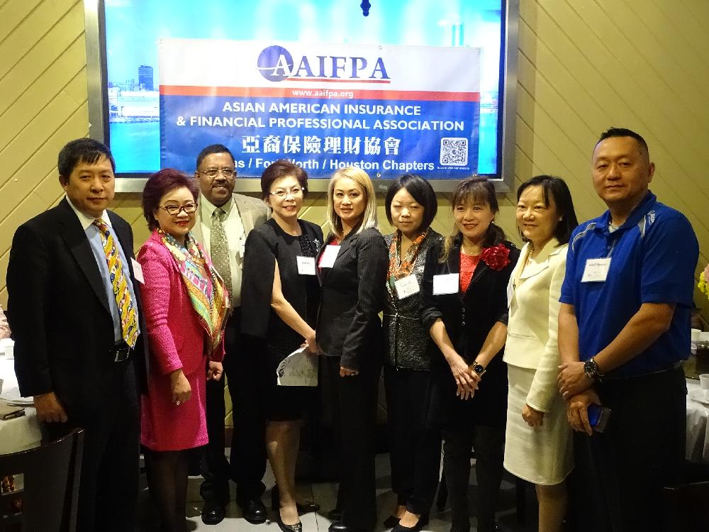 New AAIFPA Houston Chapter President Takes Office!