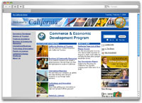 California Commerce & Economic Development Program